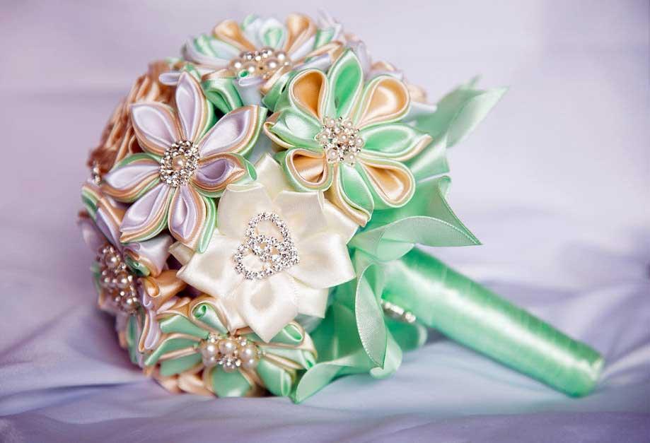 Букеты для невесты своими руками