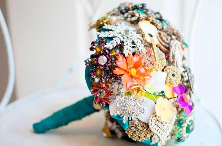 Букеты для невесты из лент своими руками
