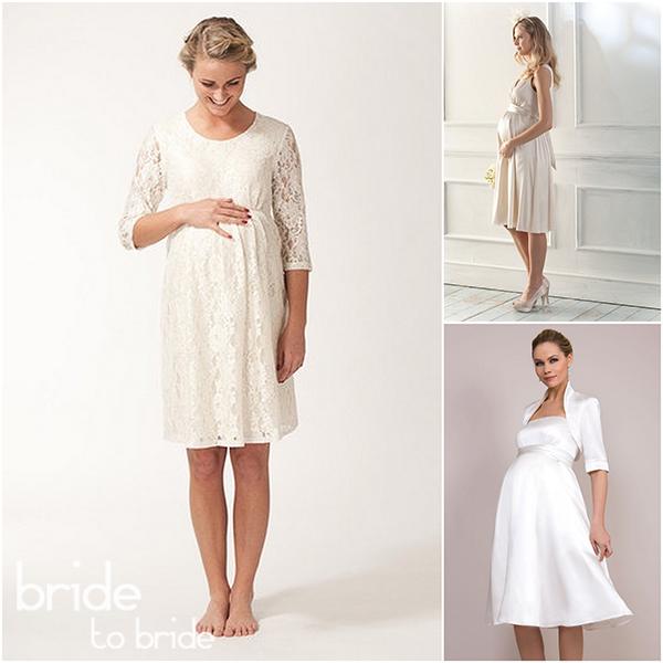 свадебные платья для беременных 2015