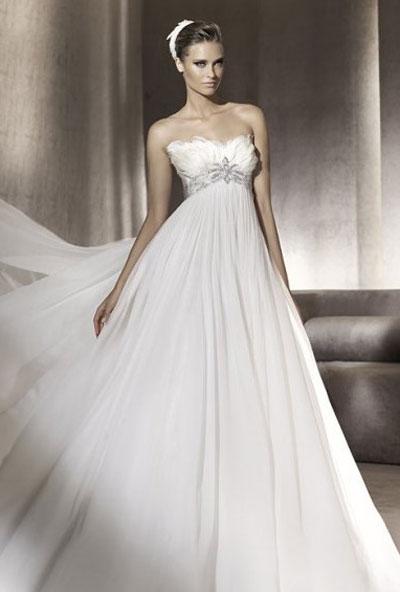 Свадебные платья для беременных (50 фото