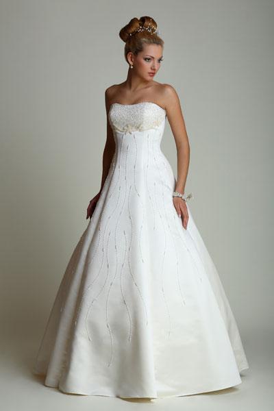 Каталог свадебных платьев для беременных