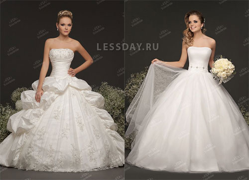 Wedding Saloon :: самые пышные свадебные платья, фото - Свадебные