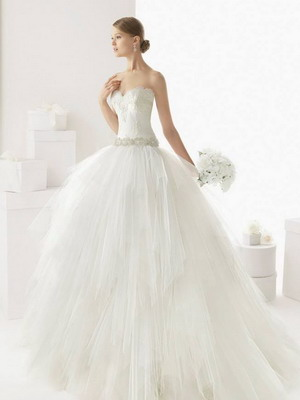 Свадебные шикарные платья
