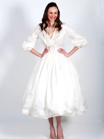 Изобр по > Свадебные Платья в Стиле 60-х