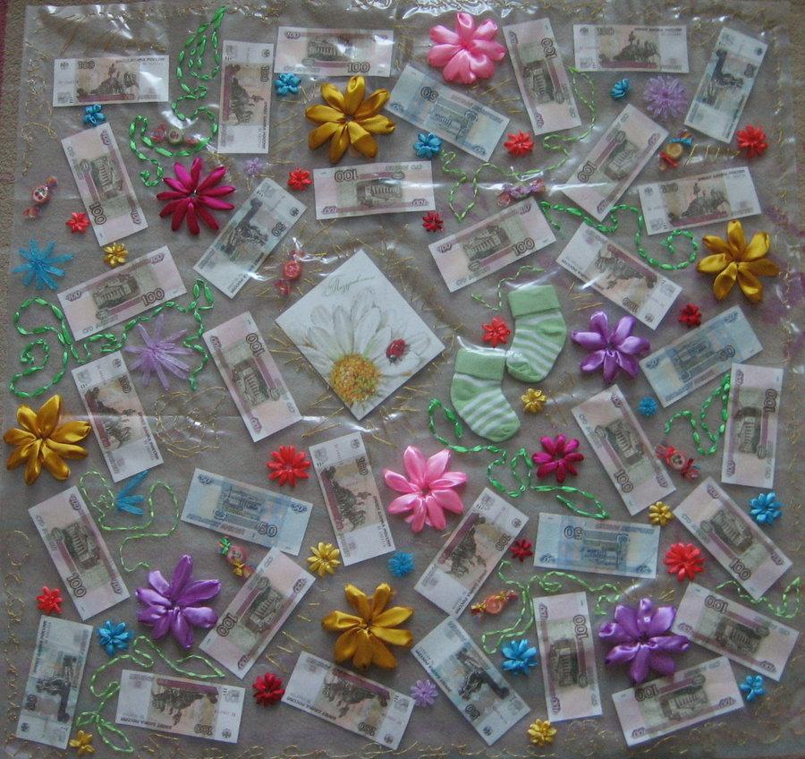 Сувениры из денег фото