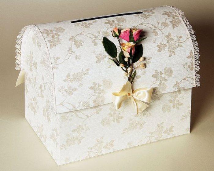 Как сделать своими руками сундук для свадьбы