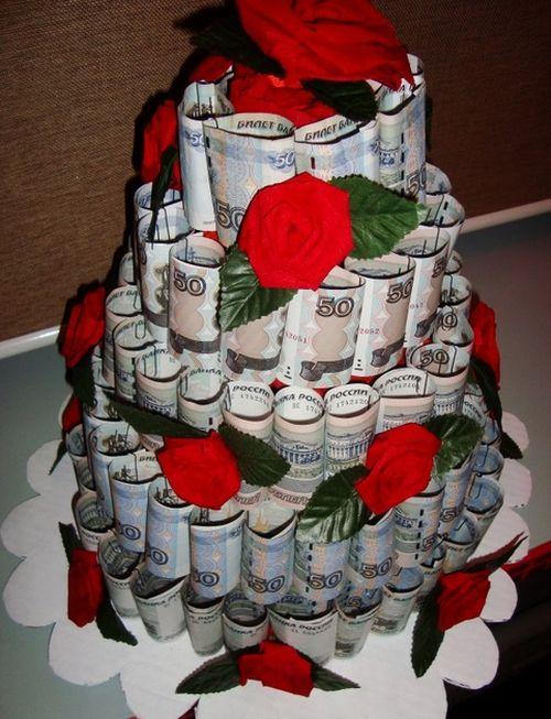 Своими руками торт на свадьбу