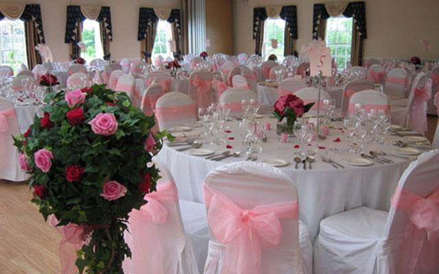 Как украсить свадебные зал своими руками фото