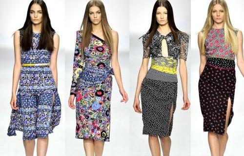Модные тенденции - платья весна-лето 2014