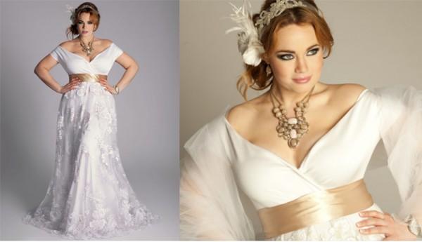 Свадебные платья для полных девушек, или Самая красивая невеста в правильном наряде